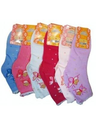 """Носки для девочки """"BlackStar"""", бабочки"""