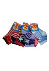 """Детские махровые носки """"JinGya"""", В/212 в полоску"""