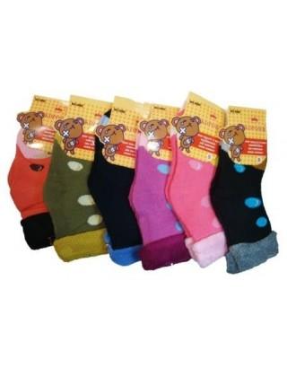 """Детские махровые носки """"Корона"""",№30920/1"""