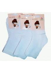 """Белые детские носки """" 001 """""""