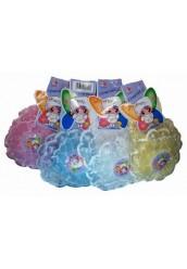 Носки детские цветные с кружевом,штучно