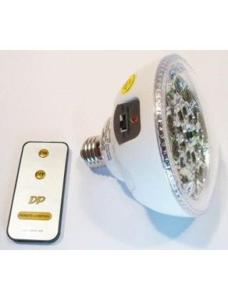 Самозарядная светодиодная лампа с пультом!