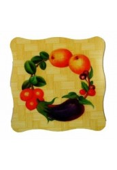 "Подставки для тарелок ""Бамбук"" квадратная"