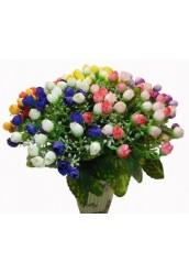 """Цветы искусственные,мини-букет """" Роза """""""