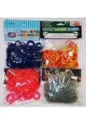 """Резинки Loom Bands """"42362/F"""",200шт"""