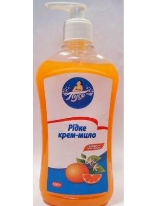 """Жидкое крем-мыло """"Пуся"""", грейпфрут"""