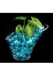 Гелевые шарики для цветов, средние, однотонные (гидрогель)