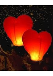 """Небесный фонарик """" Сердце """""""