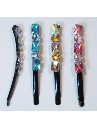 """Невидимки для волос """"Yun Jewelry"""", №02"""