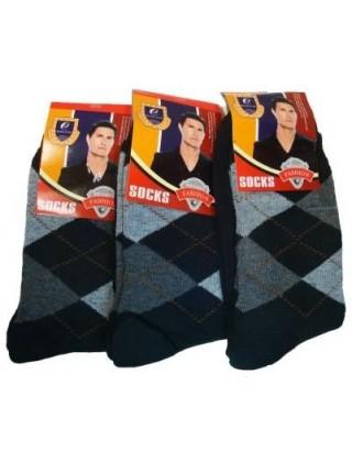 """Мужские носки, махра """" JingYa """""""