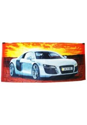 "Пляжное полотенце "" Audi """