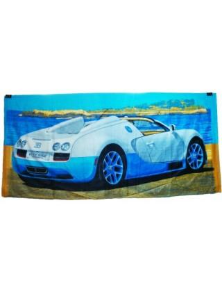 """Пляжное полотенце """" Авто """""""