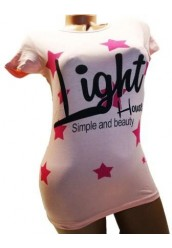 """Женская футболка """" Ligth """""""
