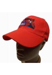 """Бейсболка """" Spider """", красный"""