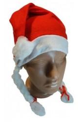 """Новогодняя шапка """"Косички"""""""