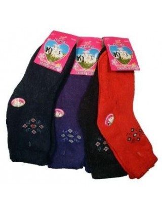 """Ангоровые женские носки """"JinGzi"""",023"""