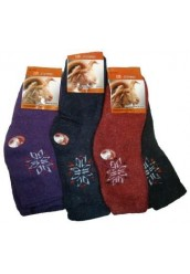 """Ангоровые женские носки """"JinGzi"""",022"""