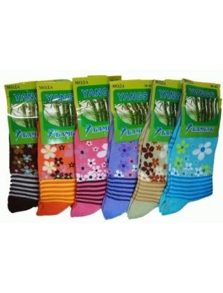 """Женские носки """" Yangs """", бамбук № А33-001"""